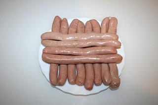 05 - Zutat Bratwurst / Ingredient bratwurst