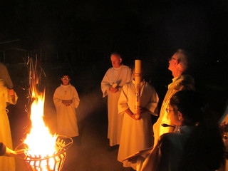 Fire at Easter Vigil