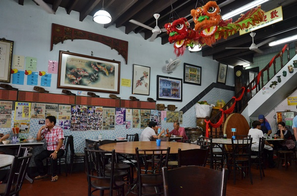 Interior of Hoong Tho