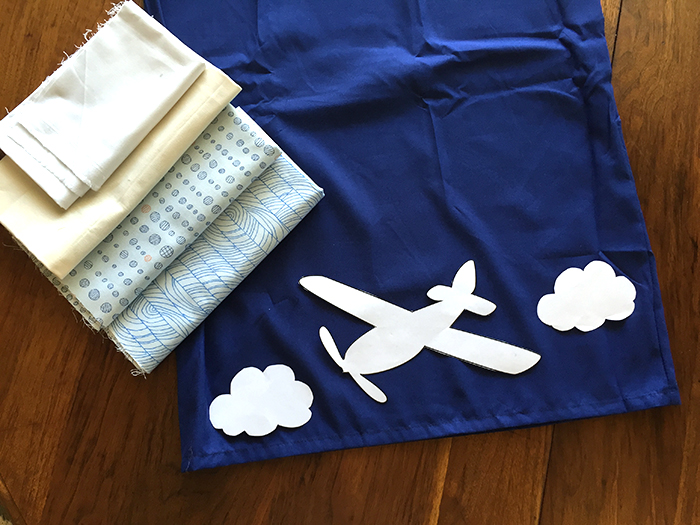 Plane-pillowcase