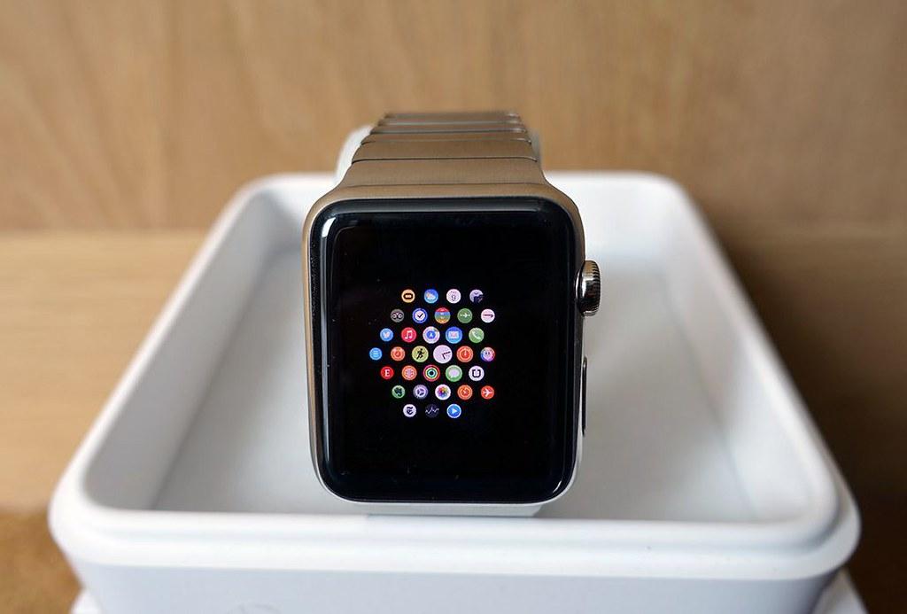 App trên đồng hồ thông minh apple