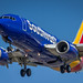N7723E - Southwest Airlines - Boeing 737-76N - Sporting the 'New Livery' - On Final for KCLE Runway 24R by p.csizmadia