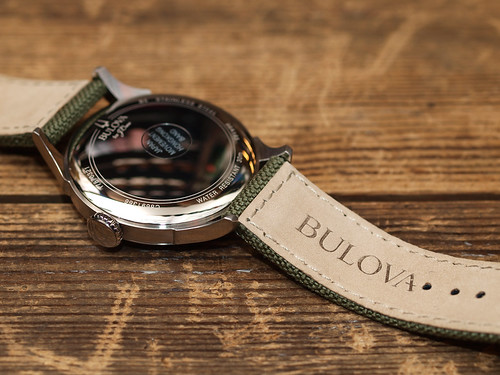 BULOVA for J.Crew / Air Warden Watch