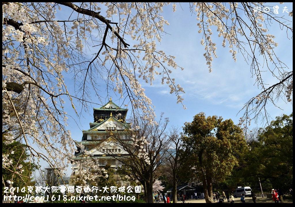 2014京都大阪賞櫻自由行-大阪城公園DSC_1782