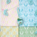 Easter fabrics from Elephant in my Handbag