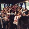 Berwangian dengan pemain selepas games #selfie #selfieoftheday #bus #Sarawak #Kuching