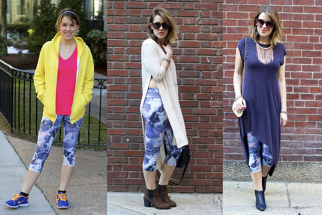 How to wear workout clothes in everyday life, ways to wear leggings