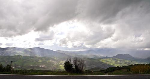 mountains travelling clouds landscape reisen kreta wolken berge greece crete griechenland landschaft archanes idamountains idagebirge olympuse5 schreibtnix