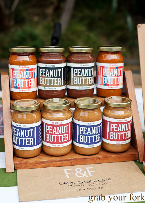Fix and Fogg peanut butter at Thorndon Farmers' Market, Wellington