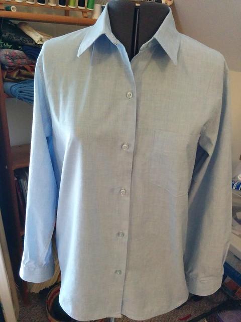 Kwik Sew 3555 women's shirt