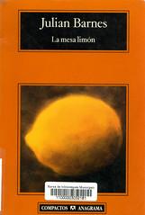 Julian Barnes, La mesa limón