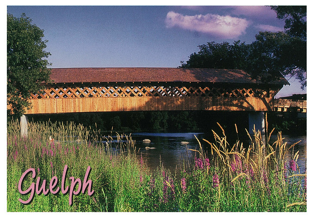 Ontario - Guelph - Covered Bridge