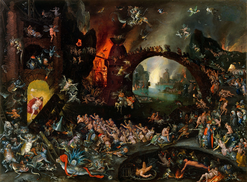 Jan Brueghel The Elder - Christ in Limbo, 1593