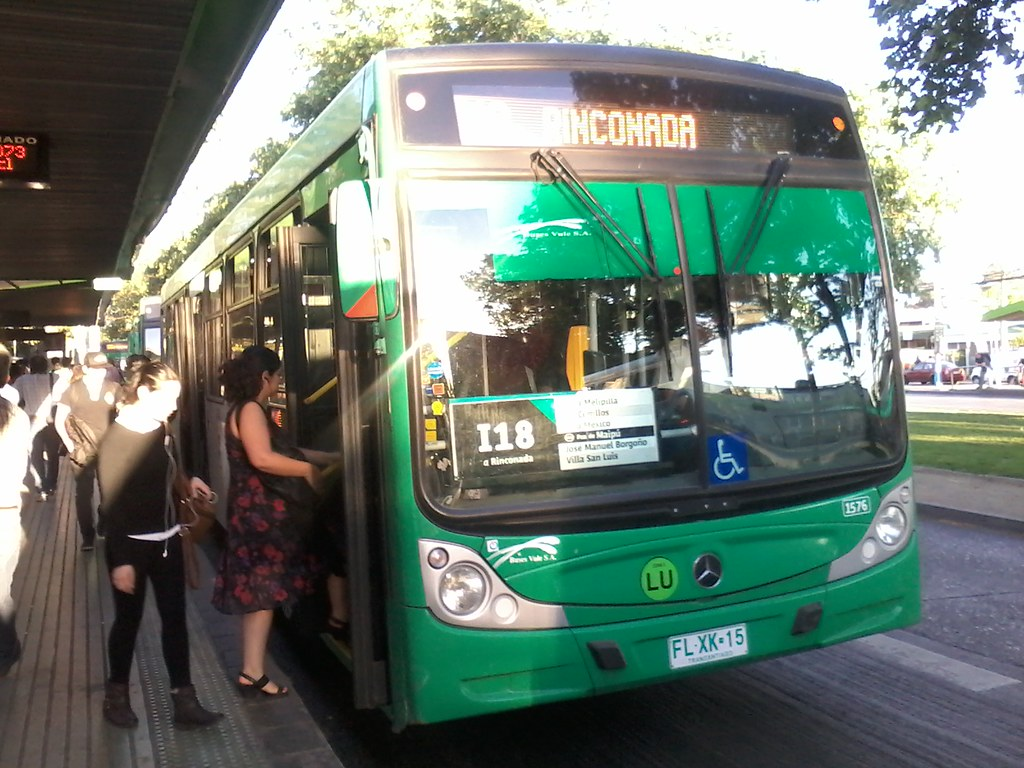 I18 - Transantiago | Buses Vule (U3) | Caio Mondego H / FLXK15