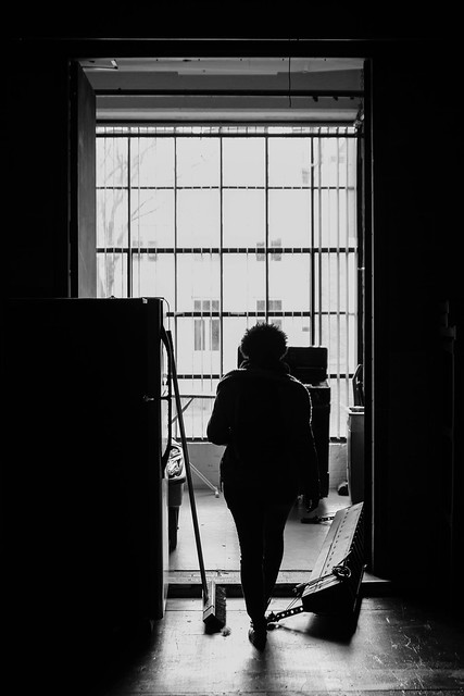 silhouette at the Studio Theater