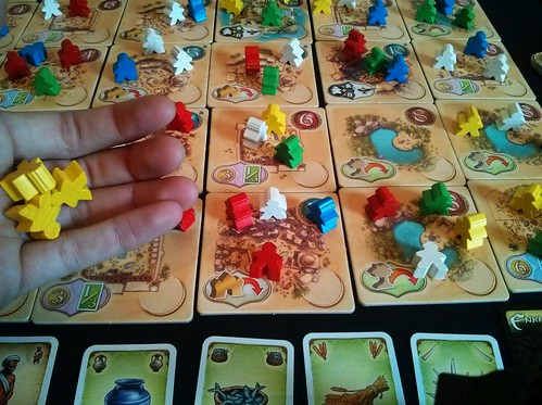 038 Five Tribes Gameplay 10