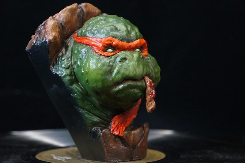 1/4 TMNT sculpté par Cyril Roquelaine 17126963438_90ecb93eec_c