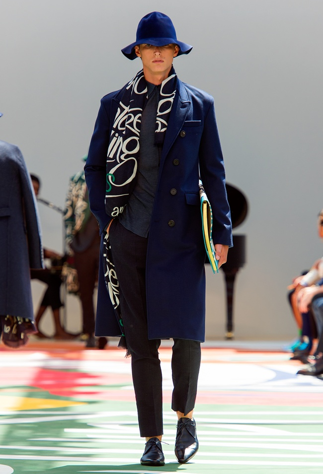 7-8 Burberry Prorsum Menswear Spring Summer 2015 Collection - Look 40