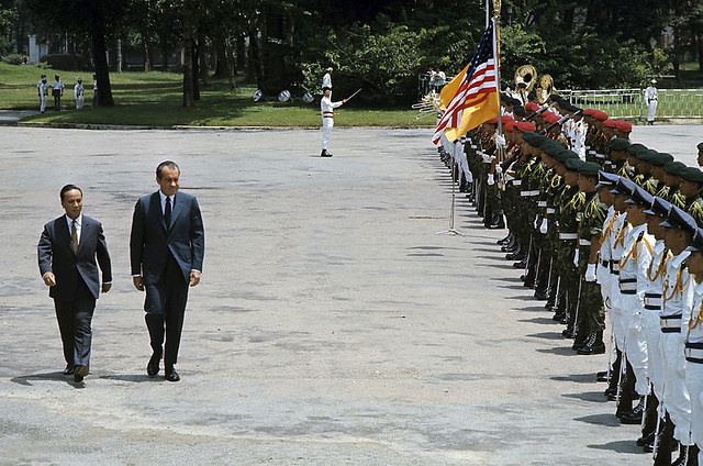 July 30, 1969 - Nixon visits South Vietnam