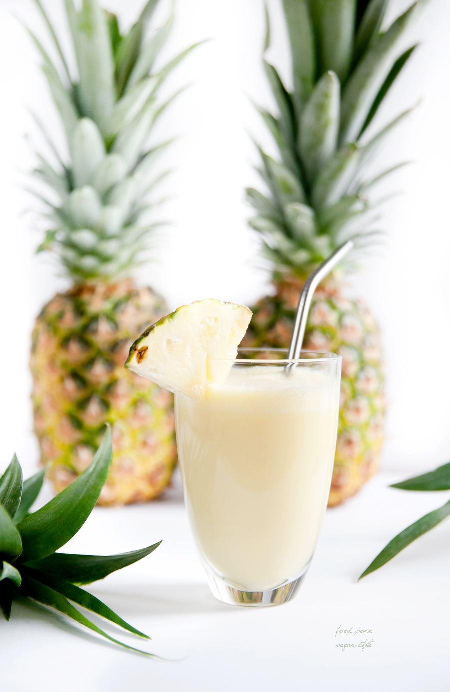 Vegan pineapple lassi