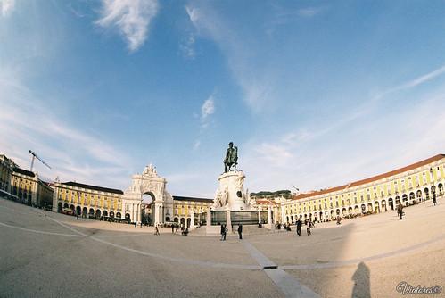 Praça do Comércio. Lisbon. Portugal