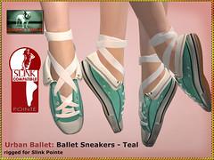 Bliensen - Urban Ballet - Teal