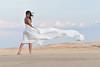 Dina Reyes at the dunes