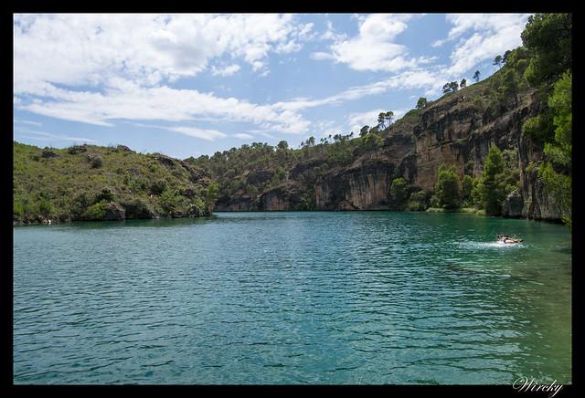 Hoz del río Guadiela en embalse de Bolarque