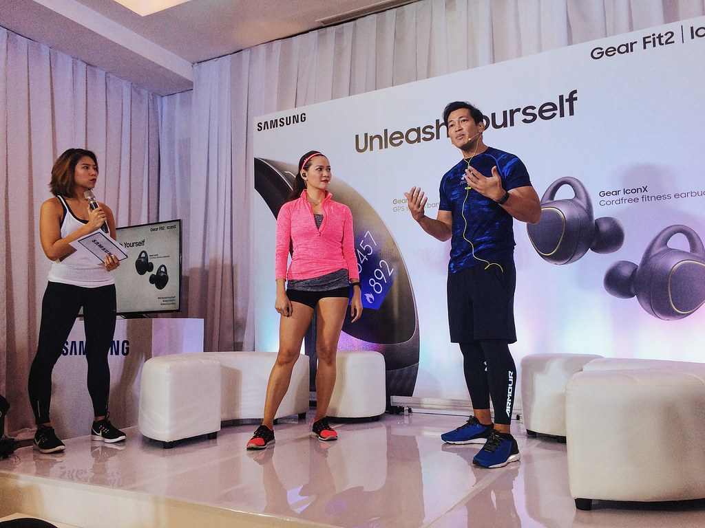 #UnleashYourself with Samsung's Gear Fit2 and Gear IconX