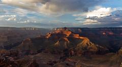 Gran Canyon NP sunset lights