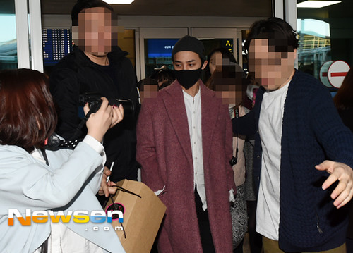 Big Bang - Incheon Airport - 22mar2015 - G-Dragon - Newsen - 02