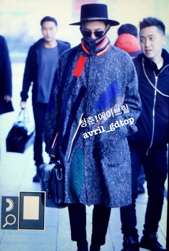 Big Bang - Gimpo Airport - 15jan2015 - G-Dragon - Avril - 02