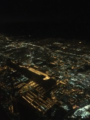 LAS to LAX; the approach.