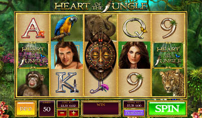 Heart of the Jungle slot game online review