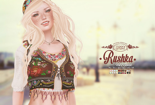 :Moon Amore: Rushka Shirt & Vest