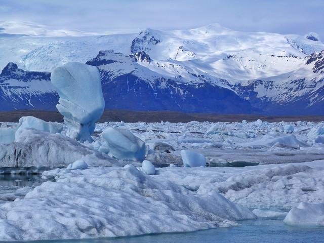 Laguna Jökulsárlón de Islandia