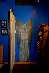 Don't Blink! - Weeping Angel -  Blue Box Cafe - Elgin IL