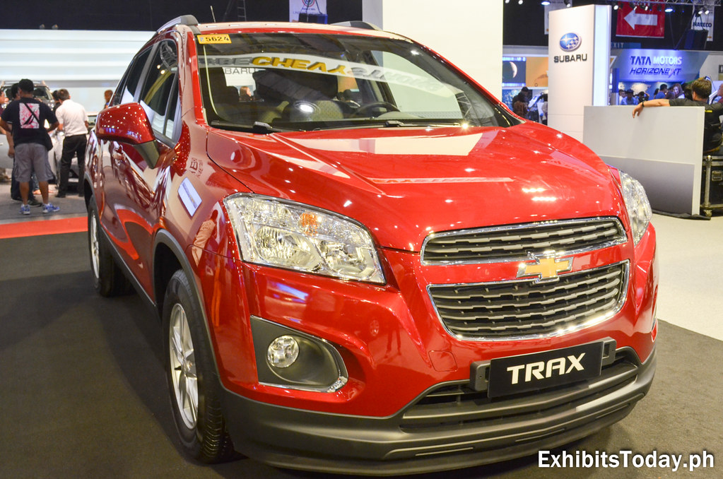 Red Chevrolet Trax
