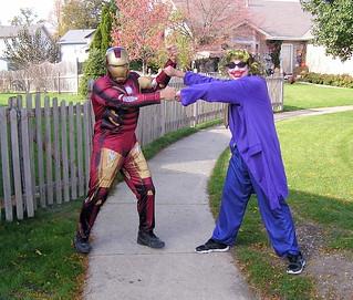 Marvel DC Mashup