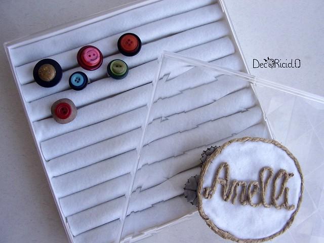 anelli bottoni + scatola espositore 2