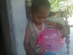 With ballon !