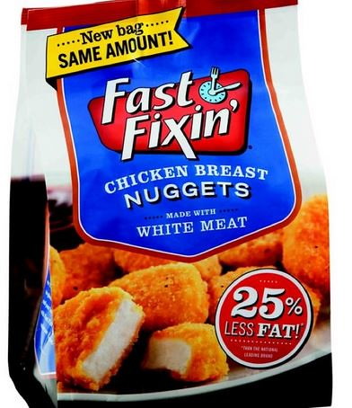 Fast Fixin Chicken nuggets