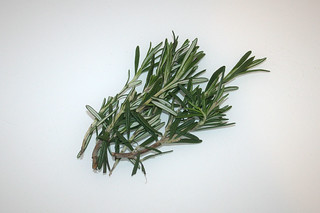 18 - Zutat Rosmarin / Ingredient rosemary