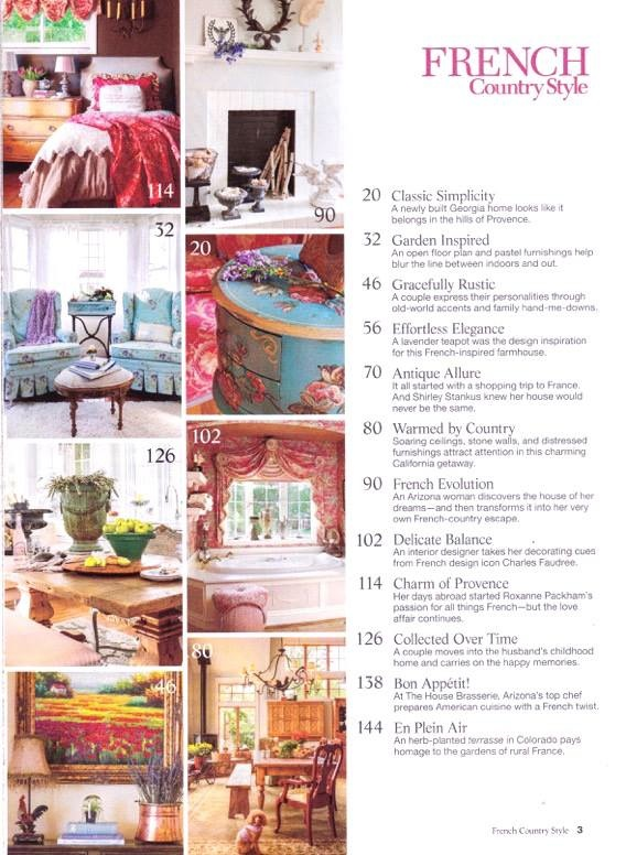 French Country Style 2015-Housepitality Designs