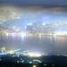 青春的彼岸 ~ Night   Aerial  View of  Taipei city @ The Tough guy Ridge  觀音山硬漢嶺~