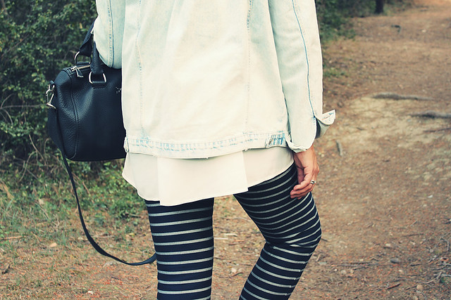 Look stripes pants