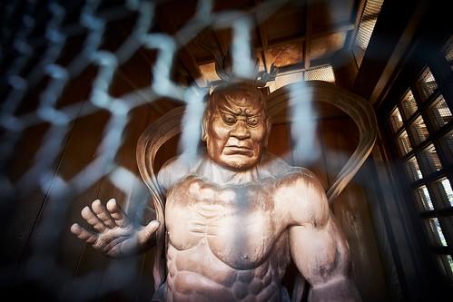 Nio, a guardian of Buddha