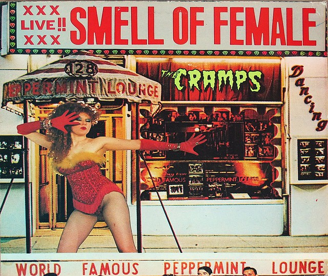 "CRAMPS SMELL OF FEMALE BIG BEAT 45RPM 12"" LP VINYL"