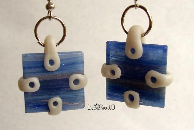 orecchini strie blu 1