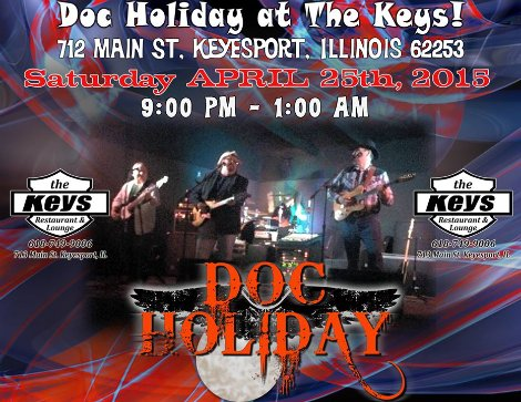 Doc Holiday 4-25-15